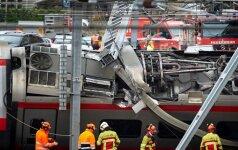 Traukinio avarija Šveicarijoje