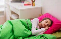 Kiek iš tiesų mums reikia miego? Lentelė 0-16 m vaikams