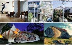 Keisčiausi pasaulio namai: juose gyventi norėtų ne kiekvienas