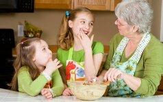 Interviu su močiute: prasmingai leisti laisvalaikį su anūkais daug pinigų nereikia
