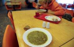 Ekologiškas maistas mokyklų valgyklose - tik popieriuje