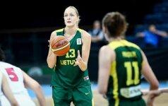 Turkijos moterų krepšinio lygoje G. Petronytė pelnė 10 taškų