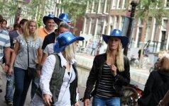 Įspūdžiai Amsterdame: kiek teks mokėti už plaštakės paslaugas