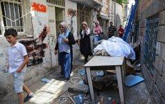 Turkijos rytuose per sprogimą žuvo keturi kariškiai