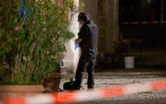 IS džihadistai prisėmė atsakomybę dėl išpuolio Ansbache