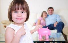 Kokias finansų pamokas turi išmokti įvairaus amžiaus vaikai?