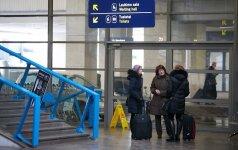 Vilniaus oro uoste – atvykimo terminalo teritorijos tvarkymo darbai