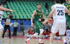 Lietuvos studentų krepšinio rinktinė antrą kartą pralaimėjo Angolai