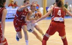 Lietuvos 18-mečių rinktinė žais dėl devintos vietos Europoje