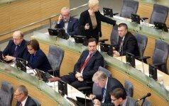 Seimas pritarė naujam darbo santykių reglamentavimui