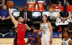 """J. Valančiūnas debiutavo NBA """"Visų žvaigždžių"""" savaitgalio šventėje"""