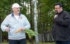 Alksandras Lukašenka ir Stevenas Seagalas