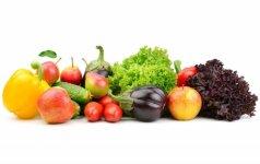 Vaisiai ir daržovės – sveikos mitybos pagrindas
