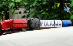 Policija, plafonas, švyturėliai
