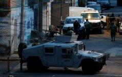 Meksikos policija tiria susišaudymo vietą