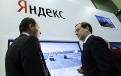 Yandex kurs technologiją autonomiškiems automobiliams