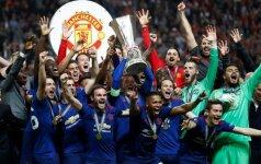 Manchester United triumfas