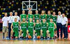 Lietuvos krepšininkai pratęsė pergalių seriją kurčiųjų olimpinėse žaidynėse