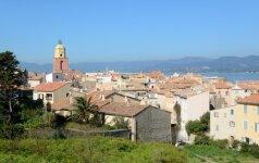 Kuriuos paplūdimius pasirinkti, apsistojus San Tropeze?