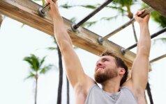 Kaip teisingai sportuoti su lauko treniruokliais?