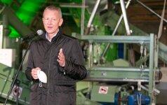 Vilniuje atidaryta moderni atliekų perdirbimo linija