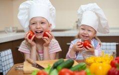 Knygą apie maistą vaikams parašyti lietuvę įkvėpė asmeninė patirtis +2 receptai