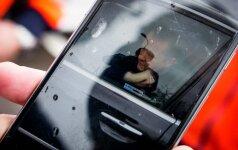 Vilniuje girto vairuotojo tramdymas prilygo koviniam filmui