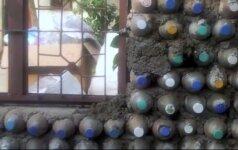 Namai iš plastikinių butelių: pigūs ir labai patvarūs