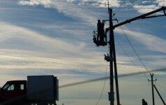 Elektros linijos projektuotojai bus teisiami dėl žmogaus mirties