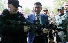 Ukrainoje užpulta O. Turčynovo žmona