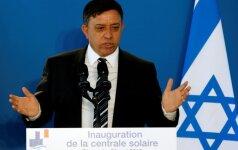 """Izraelio aplinkos ministras paskelbė, jog traukiasi iš """"ekstremistinės vyriausybės"""""""