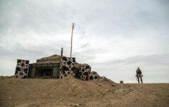 Trys Ukrainos kariai žuvo per sprogimą