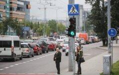 Dėl ginčų teismuose gali vėluoti sostinės eismo saugumo užtikrinimo darbai