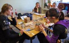 Eko-dirbtuvių kūriniai bus įteikti vaikams, seneliams ir miestui