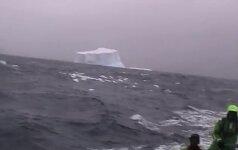 To mokslininkai ir baiminosi labiausiai — nuo Antarktidos gali atskilti dar daugiau ledo