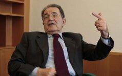 Buvęs Europos Komisijos vadovas R. Prodi ragina nedelsiant atšaukti sankcijas Rusijai