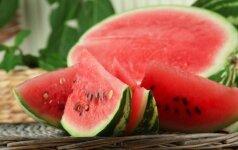 Įspėja apie arbūzo žalą: skaičiuokite kiekvieną kąsnį