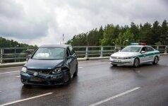 Avarija Vilniuje: prieš eismą važiavęs kaltininkas toks girtas, kad po susidūrimo užmigo
