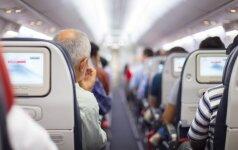 Kodėl skrydžio metu patartina išjungti mobilųjį telefoną