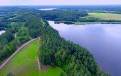 Ypatinga Lietuvos vieta iš paukščio skrydžio: niekur kitur tokių vaizdų nepamatysite