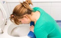 Viena dažniausių nėščiųjų problemų – pykinimas