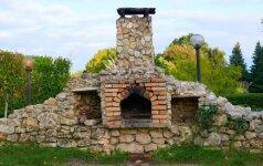 Ką reikia žinoti prieš mūrijant akmeninį lauko židinį?