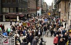 Suomiai protestuoja