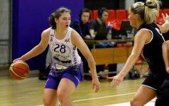 Geriausia jaunąja LMKL krepšininke išrinkta R. Knyzaitė: aikštelėje jaučiu didesnę varžovių pagarbą