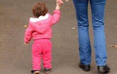 Ką daryti, jei išėjus pasivaikščioti su vaiku <em>prispiria reikalas</em>, o tualeto šalia nėra?