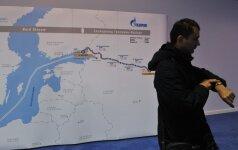 """JAV viceprezidentas: """"Nord Stream 2"""" projektas – bloga idėja Europai"""