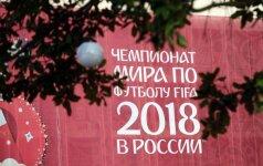 Rusija ruošiasi pasaulio futbolo čempionatui
