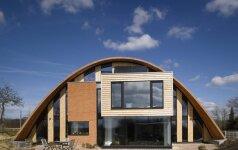 Ekologiškas būstas - iš medžio, molio, stiklo ir betono