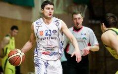 G. Gustas Estijos krepšinio čempionato mače įmetė trylika taškų