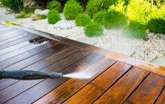 Medinė terasa: kaip ją atnaujinti?
